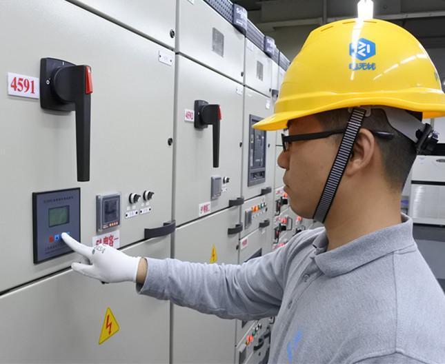 低压电容柜_电气安全无损探伤