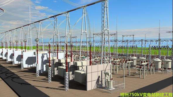 数字孪生模型助电力行业高效的突破扩建挑战——沉浸式数字孪生模型帮助工程师实现 220 kV输电线可视化设计