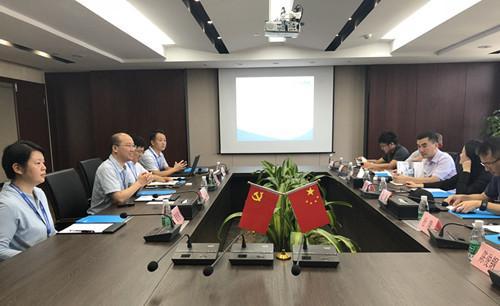 软件谷财资局吴莹副局长一行至江苏电无忧、智格电力调研指导